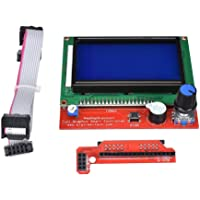 Robocraze LCD 12864 Version Graphic Smart Display Controller Module with Adapter and Cable for RAMPS 1.4 Reprap 3D Printer | 3D Printer Project