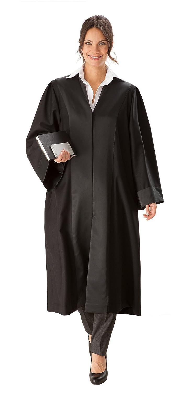 Die Robe – schwarze Einsteiger/Anwaltsrobe für Damen aus 100 % Polyester ER1000