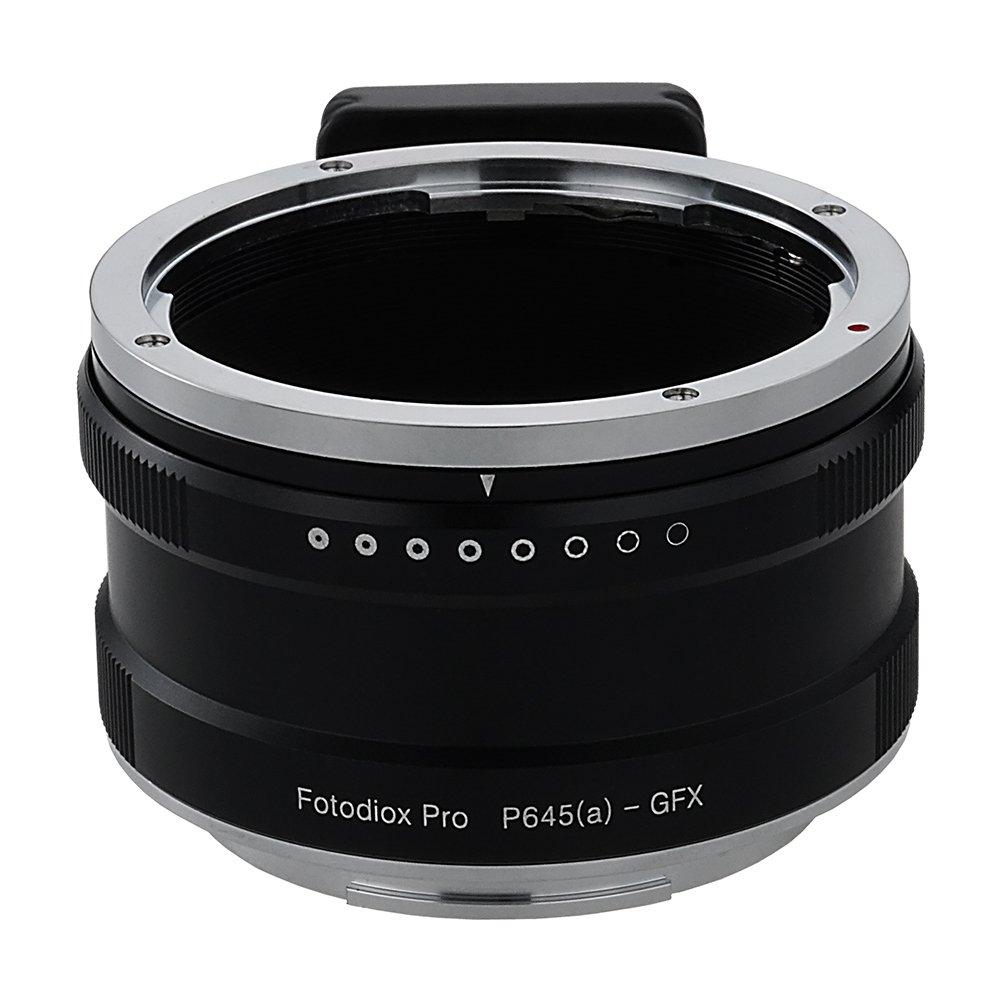 Fotodiox Proレンズマウントアダプタ、Pentax 645 ( p645 )マウントFA & DFAオートフォーカスレンズto g-mount GFXミラーレスデジタルカメラシステム(などGFX 50s and More )   B079H94714