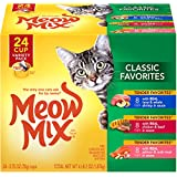 Meow Mix Classic Favorites Variety Pack Wet Cat Food, 2.75-Ounce Cups (Pack Of 48)