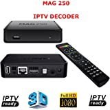 Mag 250 décodeur IPTV HDTV 1080p HDMI HD TV Box Streaming Media Player USB