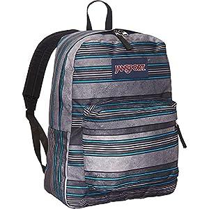 JanSport Superbreak Backpack- Sale Colors (Multi Bold Stripe)