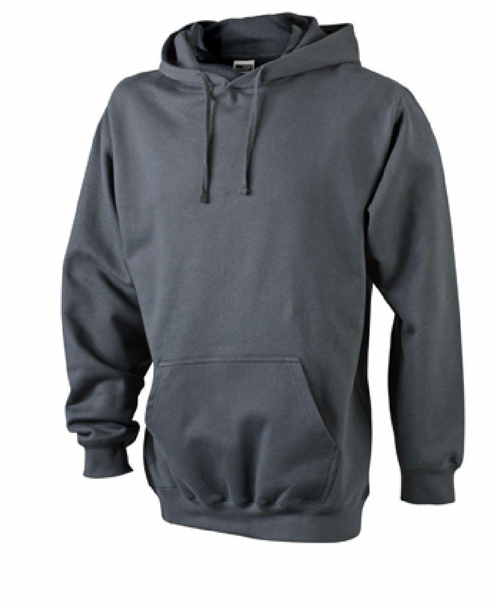 Hooded Sweat, viele Farben & Größen Carbon,XL