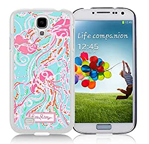 Samsung Galaxy S4 I9500 Lilly Pulitzer 09 White Cellphone Case Personalized and Unique Design