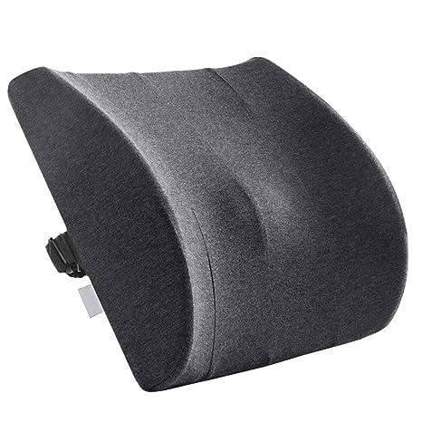 JXXDDQ Cojines de Cintura para Oficina Soporte Lumbar para ...