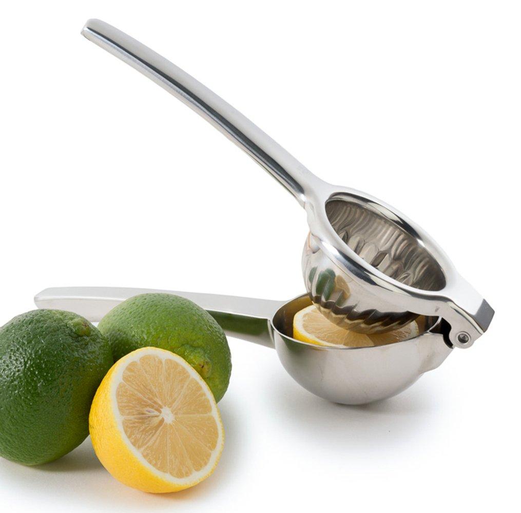 Chef's Star Jumbo Citrus Juicer Lemon Squeezer - Stainless Steel - Lime Squeezer - Orange Squeezer - Dishwasher Safe