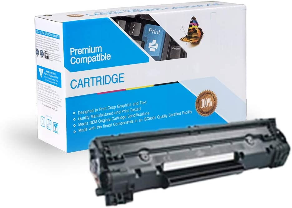 3483B001 Works with: imageCLASS LBP 6200D Black On-Site Laser Compatible Toner Replacement for Canon 126