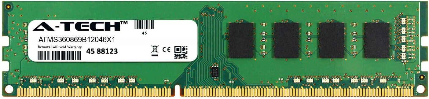 A-Tech 4GB Module for Dell XPS 8700 Desktop & Workstation Motherboard Compatible DDR3/DDR3L PC3-12800 1600Mhz Memory Ram (ATMS360869B12046X1)