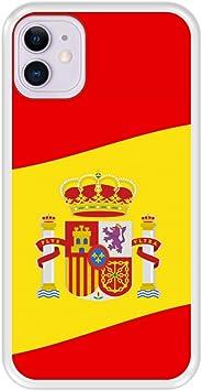 Funda Transparente para [ iPhone 11 ] diseño [ Ilustración 2, Bandera de España ] Carcasa Silicona Flexible TPU: Amazon.es: Electrónica