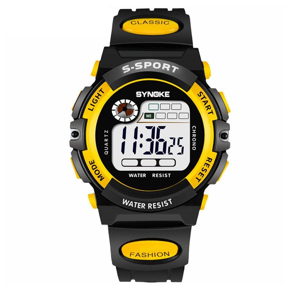 Timer Cronometro Elettronico Digitale Elettronico Giallo Impermeabile