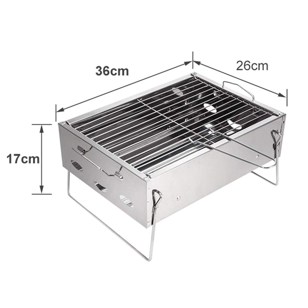 Amazon.com: Charcoal Grills Mini Grill Charcoal BBQ Portable ...