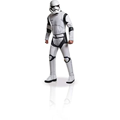 Star Wars: The Force Awakens Deluxe Adult Stormtrooper Costume: Clothing