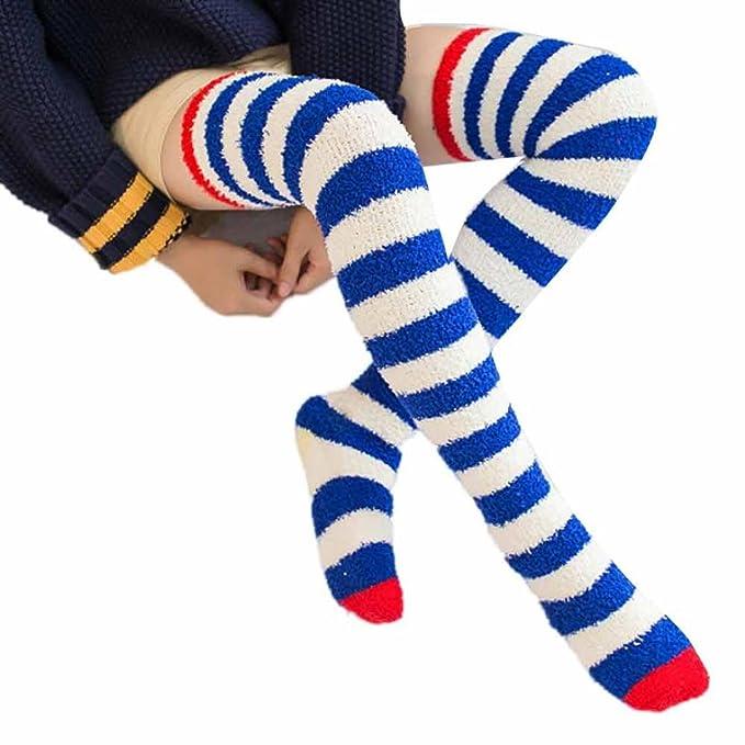 Doitsa 1 Paar Socke Mädchen Wind Overknee Strümpfe über..