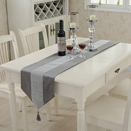 Amazon Com Eleoption Table Runners 72 Inch And Matching Placemats