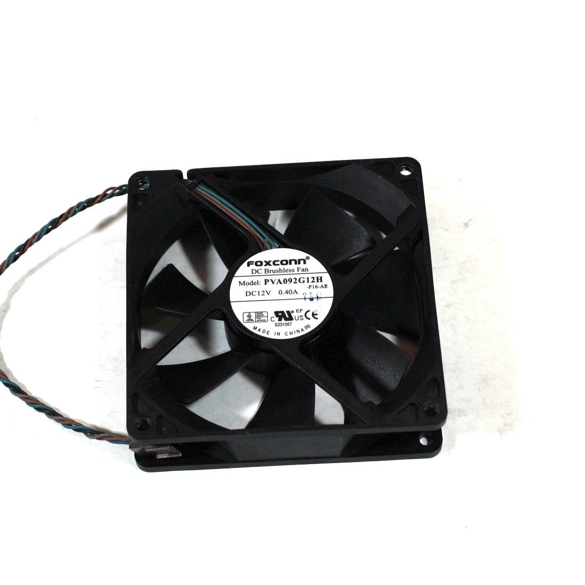 Genuine HP Compaq 8000 Elite Computer Cooling Case Fan N/A DC12V 0.40A PVA092G12H