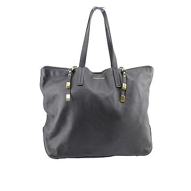 60790a63d046 Amazon.com  Michael Kors Miranda Zips Womens Black Purse Leather Tote  Shoes