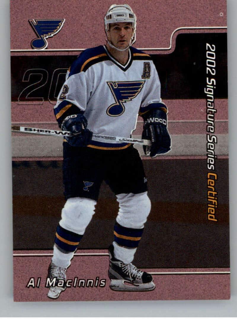 1994-95 Upper Deck # 150 NM//MT Hockey Card Al Macinnis
