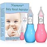 Suavinex - Aspirador nasal bebé +0 meses con boquilla anatómica. Alivia La Mucosidad del bebé. 0% BPA: Amazon.es: Bebé