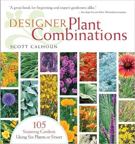 Designer Plant Combinations: 105 Stunning Gardens Using Six Plants or Fewer by Scott Calhoun (September 03,2008)
