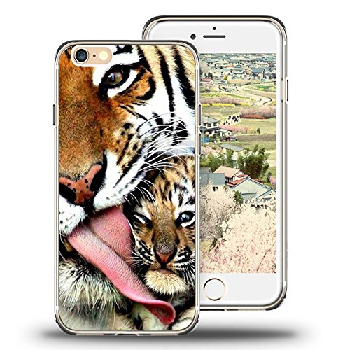 - iPhone 6s Case Viwell iPhone 6/6s (4.7 Inch) Case, 2015 Unique Design Fashionable Protective Cover Tiger's Motherly Love