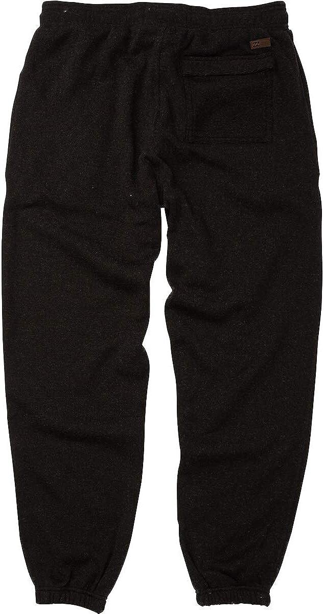 BILLABONG Boundary Pantalon de survêtement pour homme noir chiné