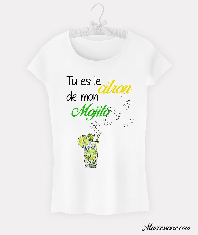T-Shirt Femme Tu es le citron de mon mojito