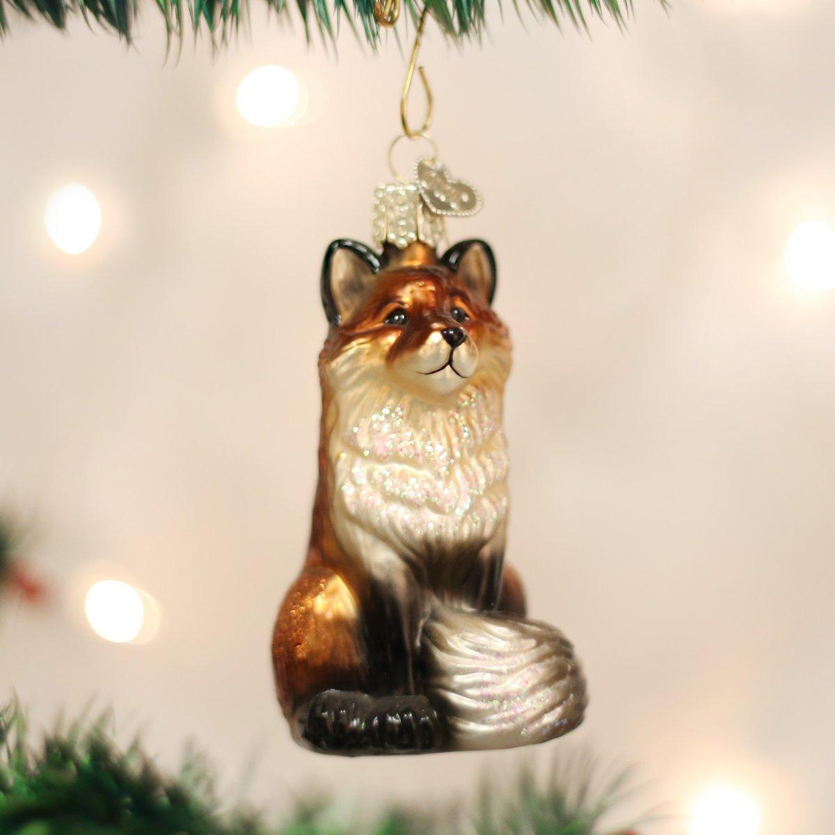 Old World Christmas Armadillo Glass Blown Ornament