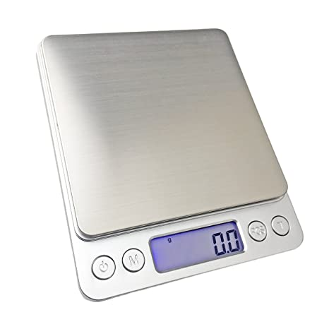 Dooppa High-Precision Pocket Digital Scales 1000g//0.1g Multifunctional Mini Scale with LCD Screen