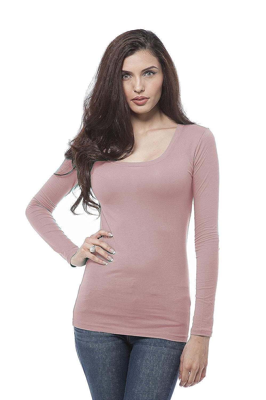 255 arfurt Women's Long Sleeve Button Down Casual Dress Shirt Business Blouse