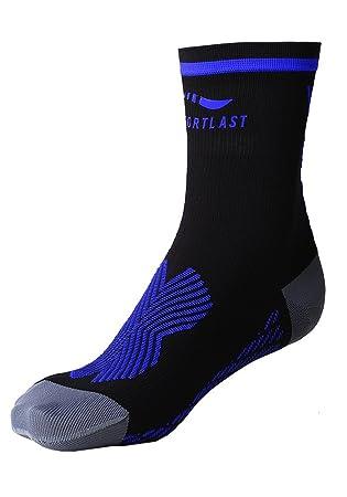 Sportlast Pro Calcetines de Tenis, Negro/Azul, M: Amazon.es: Deportes y aire libre
