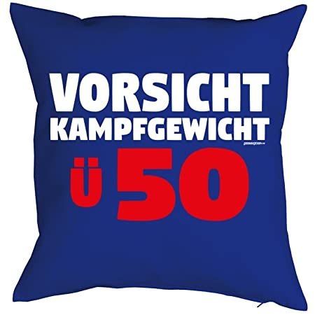 alemán de cojín para 50 cumpleaños - Idea de Regalo - Cojín ...