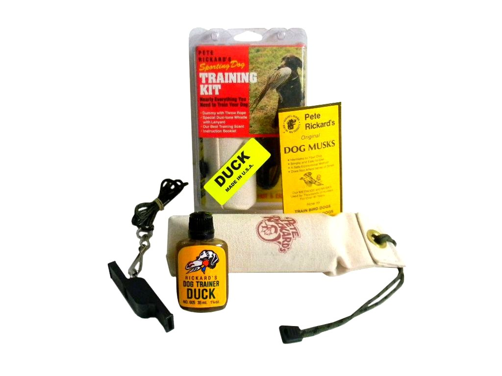 Pete Rickard's Puppy Training Duck Scent Kit by Pete Rickard's