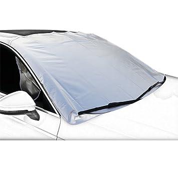 Protector Parabrisas Coche Antihielo, Cubierta de Parabrisas para El Sol Nieve Protector parasol del Limpiaparabrisas