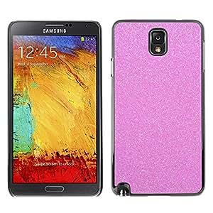 Design for Girls Plastic Cover Case FOR Samsung Note 3 N9000 Pink Glitter Sparkling Plastic Diamond OBBA