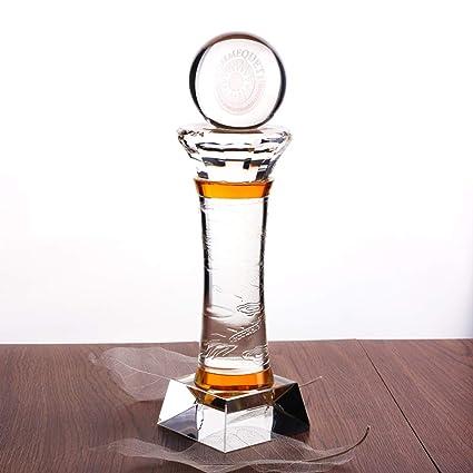 Trofeo del Pilar del Dragón Grabado Personalizado Trofeo De La Bola De Cristal Trofeo De Grabado