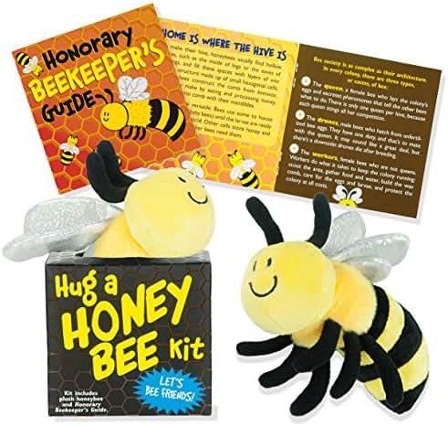 Hug a Honeybee (book with plush)