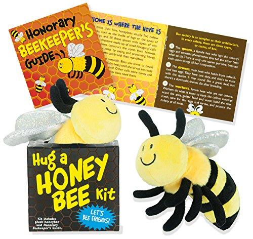 Hug a Honeybee (book with plush) -
