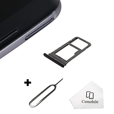 Samsung Galaxy S8 Sim Karte.Cemobile Sim Card Tray Slot Holder Replacement For Samsung Galaxy S8 G950 S8 Plus G955 All Carriers Sim Card Tray Open Eject Pin Midnight