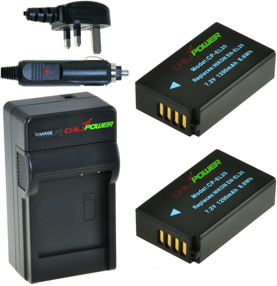 Batteria cp.Nikon EN-EL20 Coolpix A, Nikon 1 J1 J2 J3 S1 AW1