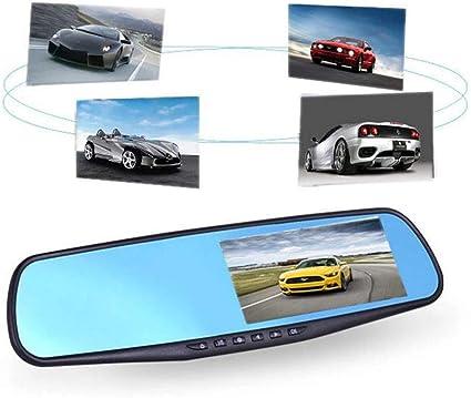 2.8/'/' HD 1080P Car DVR Motion Detection Rearview Mirror Dash Cam Recorder US