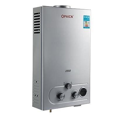 Happybuy Propane 16L LPG Tankless Instant Hot Water Heater Boiler ...