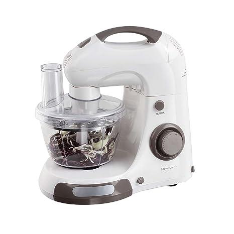 Robot de cocina con cuenco Acero Inoxidable 4 L de 2 L picadora – Amasadora amasadora