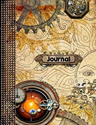 Steampunk Journal: Steampunk-Inspired Writing Journal with Inspirational Quotes