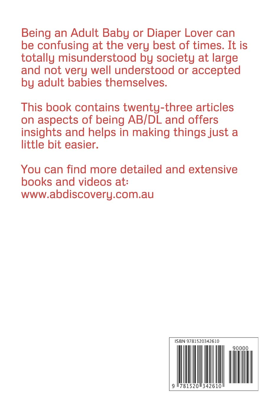 Articles on being an adult baby: Michael Bent, Dylan Lewis, Rosalie Bent:  9781520342610: Books - Amazon.ca