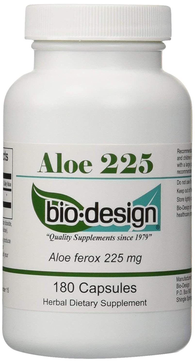 Biodesign Aloe 225 Mg 180 Caps Amazoncouk Health Personal Care