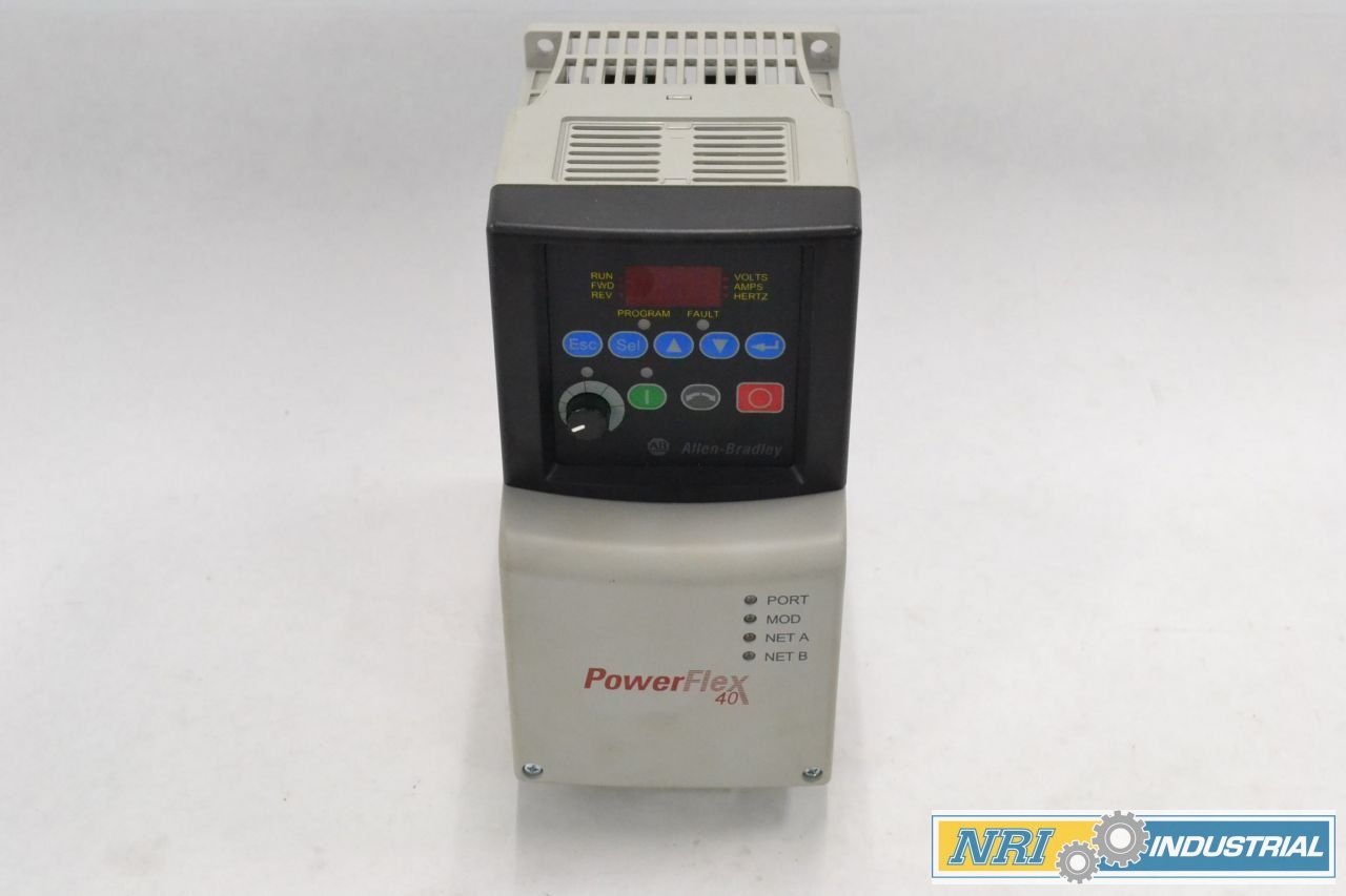 ALLEN BRADLEY 22B-B5P0N104 POWERFLEX 40 ADJUSTABLE 1HP 240V-AC DRIVE