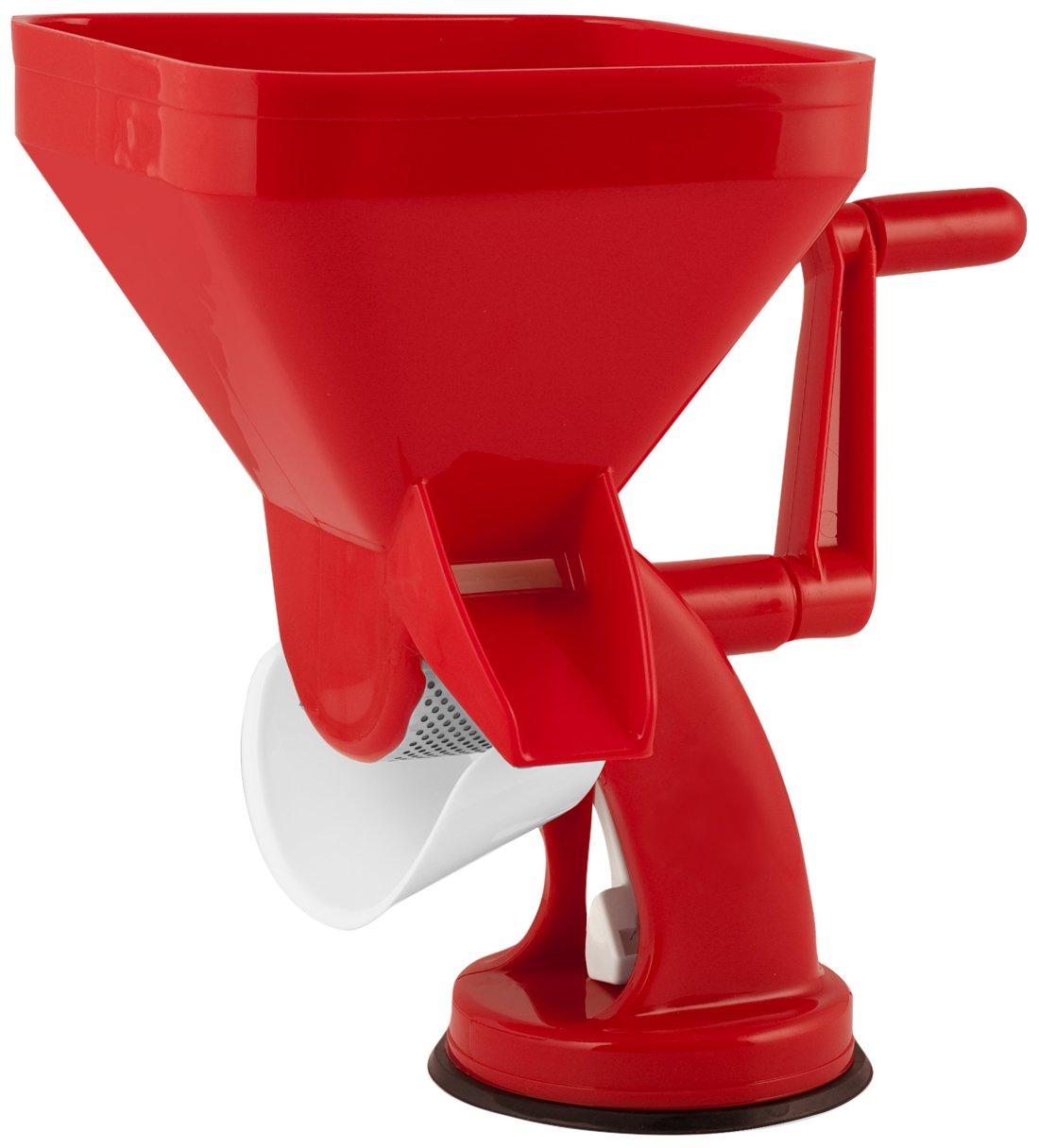 Compra Ho-Me In Rombo Home Maxi Exprimidor de Tomates Manual, Plástico, Rojo en Amazon.es