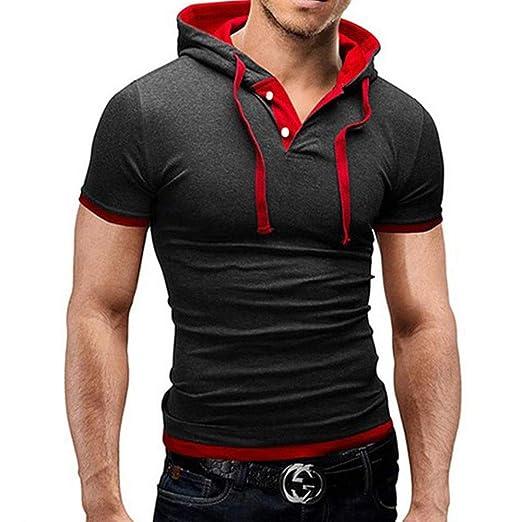 JSYDTX Rendimiento Dry Fit Hombres Camiseta del Athletic con ...