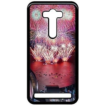 Carcasa Asus Zenfone 2 láser ZE550KL Fireworks: Amazon.es ...