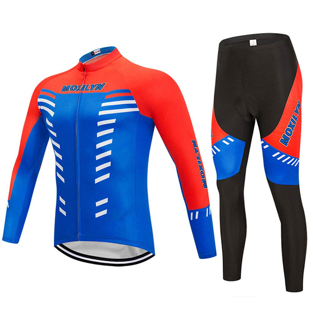 Lilongjiao Herbst und Winter männer und Frauen langärmelige Trikot reiten Hosen reiten sportbekleidung Outdoor Mountainbike reiten ausrüstung sportbekleidung Anzug